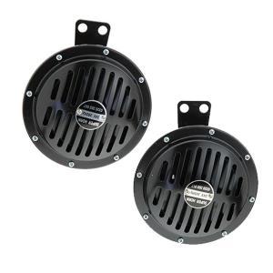 SN-316B エレクトリック スーパー ホーン115dBブラック24v|tokyomach7