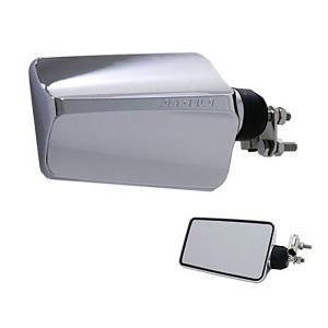 バックショットミラー FUJI-2(大)ショートタイプ メッキ|tokyomach7