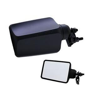 バックショットミラー FUJI-3(小)ショートタイプ ブラック|tokyomach7