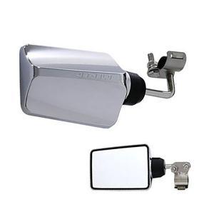 バックショットミラー FUJI-6(小)ロングタイプ メッキ|tokyomach7
