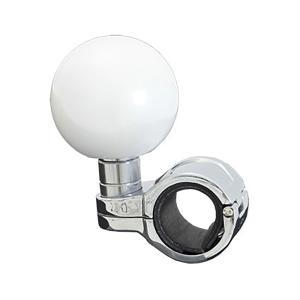 ハンドルスピンナー 丸型 パールホワイト|tokyomach7