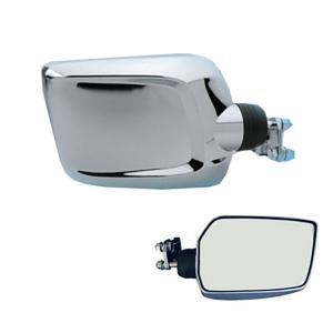 エアロクルージングミラー ショートCV-311 クローム|tokyomach7