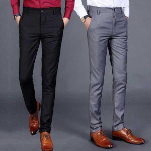 メンズスーツパンツ ギフト 紳士服 スリムチノパン スーツビジネス スラックス ボトムス 通勤ウェア...