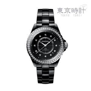 H6526 J-12 CHANEL シャネル 38mm セラミック ベゼルダイヤ 高級時計 tokyotokei