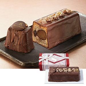 お歳暮 御歳暮 洋菓子 送料無料 〈ロイスダール〉四万十栗のショコラパウンドケーキ 極味 |東急百貨...