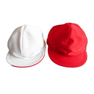 UVカット紅白帽子 tomacroom