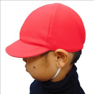 UVカット紅白帽子 tomacroom 03