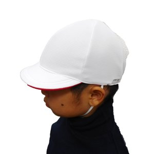 UVカット紅白帽子 tomacroom 06