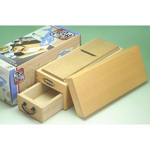 鰹節削り器「王座」(小柳産業製木製かつお節削り器)