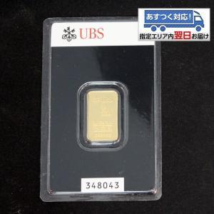【送料無料】24金 インゴット INGOT [UBS インゴット 5g] (ingot 24金 純金...