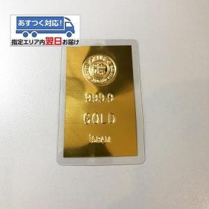 【送料無料】24金 インゴット INGOT [徳力 インゴットカード 1g] (ingot 24金 ...