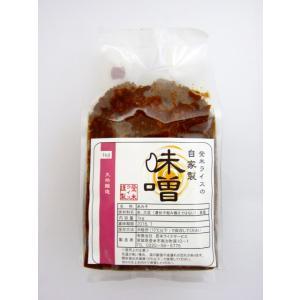 人気!米味噌 (1kg) 手作り味噌 宮城県登米市産 農薬・化学肥料不使用|tomerice