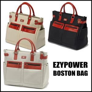 EZY POWER イージーパワー 帆布風ボストンバッグ「シューズケース袋付」トートバッグ風 tomikichi