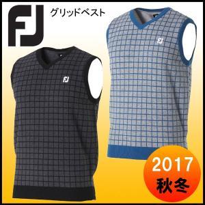 2017 フットジョイ FootJoy グリッドベスト FJ-F17-M57|tomikichi
