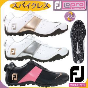 フットジョイ レディース ロープロ スポーツ スパイクレス ボア FootJoy LoPro Sport Spikeless Boa ゴルフシューズ|tomikichi