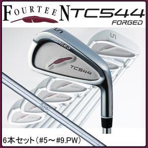 フォーティーン TC544 フォージド アイアン FOURTEEN TC-544 FORGED 6本セット NS.PRO950GH HT|tomikichi
