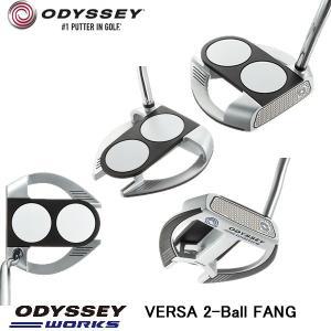 値下げ!オデッセイ ワークス 2-ボール ファング パター ODYSSEY  WORKS VERSA 2-BALL FANG パター|tomikichi