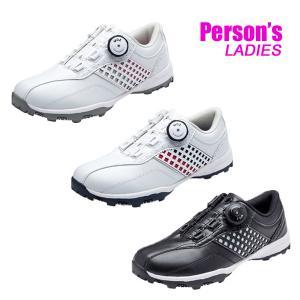 パーソンズ レディース スパイクレス ゴルフシューズ Persons PGS2016|tomikichi