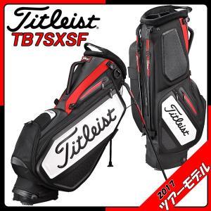 タイトリスト キャディバッグ Titleist TB7SXSF スタッフ・スタンドバッグ 9.5型 ツアーモデル tomikichi