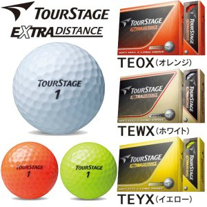 お買得!ブリヂストン ゴルフ ツアーステージ TOUR STAGE EXTRA DISTANCE ボール「ホワイトのみ」