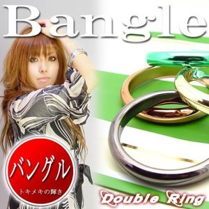 (メール便可)存在感バツグン/カラフルリングバングル/BANGLE全体的に丸みのあるカラフルアクセ(acc-091)|tomine