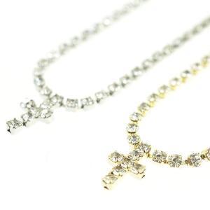 メレクロスブレスレット クロスネックレスとの相性抜群   ゴールド シルバー 十字架 Cross|tomine