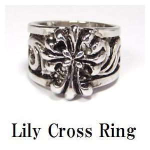 リリークロス リング・メンズリング・Cross・十字架・デザインクロス・Mens・Rock|tomine