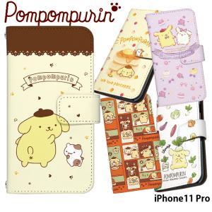 iPhone11 Pro ケース 手帳型 アイフォン11プロ 11pro カバー デザイン ポムポム...