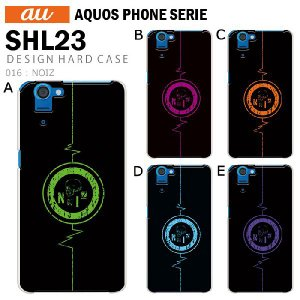 AQUOS PHONE SERIE SHL23 スマホ カバー ケース ジャケット AQUOS PHONE SERIE SHL23 スマホケース ケース カバー デザイン NOIZ tominoshiro