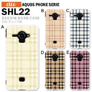AQUOS PHONE SERIE SHL22 スマホ カバー ケース ジャケット AQUOS PHONE SERIE SHL22 スマホケース ケース カバー デザイン チェック柄|tominoshiro
