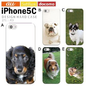 iPhone5C アイフォン5c iphone カバー ケース ジャケット iPhone5C アイフォン5c ケース カバー デザイン 犬3 tominoshiro
