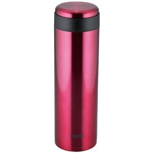 真空断熱 水筒/マグボトル (800ml レッド) 直径7.6cm ステンレス 「和平フレイズ フォ...