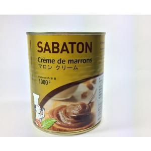 サバトン マロンクリーム / 1kg TOMIZ/cuoca(富澤商店) 栗・芋・かぼちゃ マロンクリーム|tomizawa