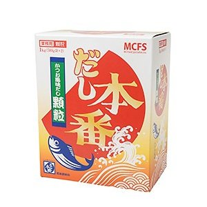 だし本番かつお風味だし顆粒 / 1kg(500g×2) TOMIZ/cuoca(富澤商店) 和食材(加工食品・調味料) だしの素|tomizawa