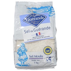 ゲランドの塩(顆粒) / 1kg TOMIZ/cuoca(富澤商店) 塩 海塩|tomizawa