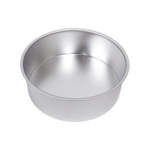 ブリキデコ缶共底 7寸 / 1ケ TOMIZ/cuoca(富澤商店) お菓子作りの型 デコレーション型 丸型|tomizawa