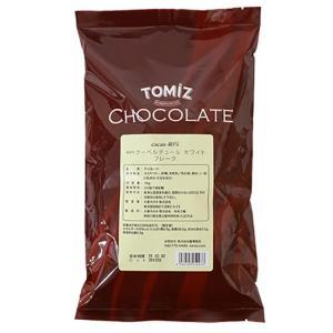 【冷蔵便】クーベルチュールフレーク(ホワイト) / 1kg TOMIZ/cuoca(富澤商店)|tomizawa