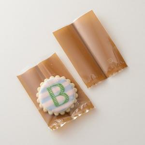 熱シール対応 OPP袋 ブラウン 70×100 / 100枚 TOMIZ(富澤商店) 菓子袋 OPP袋|tomizawa
