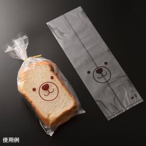 食パン袋1斤用 くま / 10枚 TOMIZ(富澤商店) パン袋 食パン袋|tomizawa