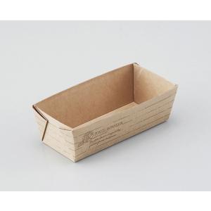 パウンドトレー ナチュール 小 / 50枚 TOMIZ(富澤商店) ベーキングカップ パウンド焼成紙型・ベーキングトレー|tomizawa