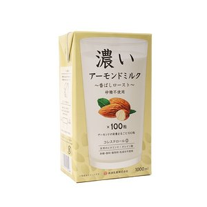 濃いアーモンドミルク(香ばしロースト) / 1L TOMIZ...