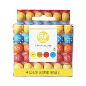 Wilton プライマリーカラーキャンディセット / 28g(7g×4) TOMIZ(富澤商店) 色素 アイシング用色素