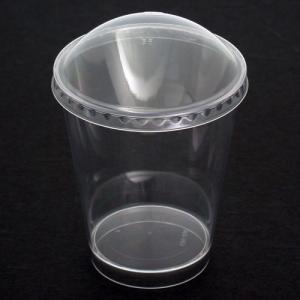 プラスチックデザートカップ230mlドームふた付 / 10組 TOMIZ/cuoca(富澤商店) デザートカップ ゼリーカップ|tomizawa