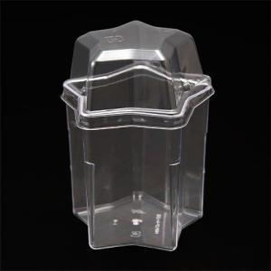 プラスチックデザートカップ星形ふた付 / 6組 TOMIZ/cuoca(富澤商店)|tomizawa