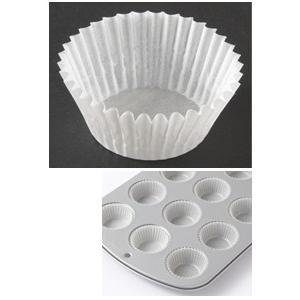 ミニマフィン型用グラシンケース / 140枚 TOMIZ/cuoca(富澤商店) ベーキングカップ グラシンカップ|tomizawa