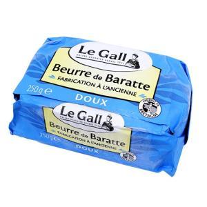 【冷凍便】Le Gall フランス産バター(食塩不使用) / 250g TOMIZ/cuoca(富澤商店)|tomizawa