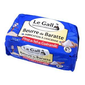 【冷凍便】Le Gall フランス産バター(ゲランド食塩使用) / 250g TOMIZ/cuoca(富澤商店)|tomizawa