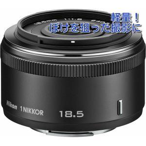 中古 6ヶ月保証 Nikon 1 NIKKOR 18.5mm f/1.8 ブラック 単焦点 レンズ ...