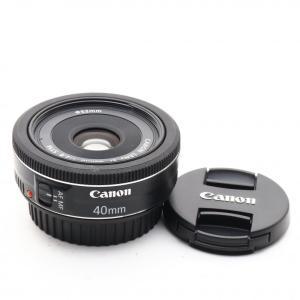 Canon 単焦点レンズ EF40mm F2.8 STM 単焦点 レンズ 交換レンズ カメラ キャノ...