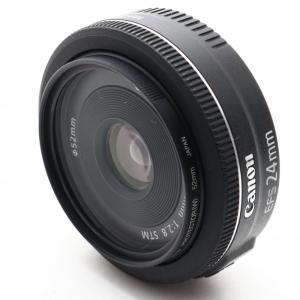 Canon EF-S24mm F2.8 STM 単焦点 広角レンズ 交換レンズ レンズ 単焦点レンズ...